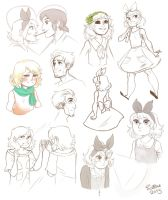 WoD : Pocky Day and Other Doodles by Siltae