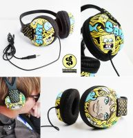 Sarzy headphones by Bobsmade