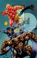Fantastic-Four by h4125