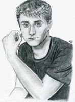 Dan Radcliffe Portrait by AngelicAbyss