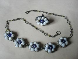 Jewelry with shells II by edelweiss-workshop