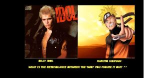 Resemblance-Billy I. nd Naruto by The1980sKunoichi