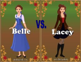 Belle vs. Lacey by Sunshine-Girl524