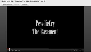 PewdieCry: The Basement Audio Reading part by Zacaria-Lain