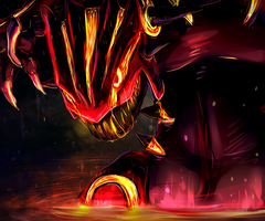 Primal Groudon by 9tailsfoxyfoxy