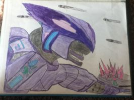 MY Elite pic that i colored by Halo-Arbiter-fan