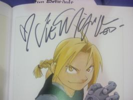 Vic's Autograph by Shadows-of-Flames
