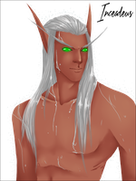Blood elf Male. by Inceadeus