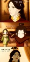 Avatar: Azula meets Santa by maddie71090