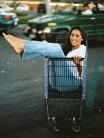 giselle in the cart by testshoot