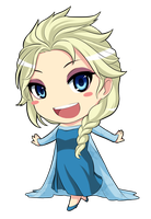 Elsa Frozen by Pinguin-Kotak