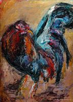 Chicken Scratch by M-A-D-art