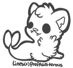 :Free To Use Cat Walrus Lines: by PrePAWSterous
