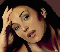 MonicaBellucci Portrait by mennyo
