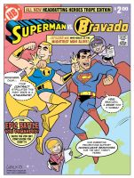 Superman vs Bravado by BillWalko