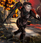 Shepard by 4eratril