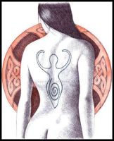 Celtic Nude02 by artistm0nk by BallpointPenClub