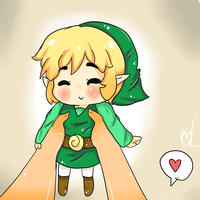 Tiny Toony Link~ by StarGamer01