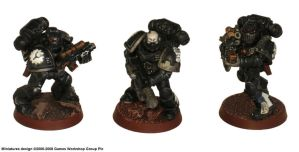 Irons Hands Tactical Marines by precinctomega