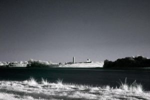 IR Devenish Island by mole2k
