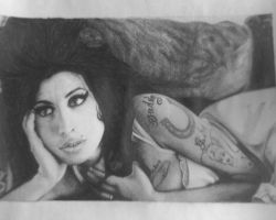 Amy Winehouse 3 by maybetomorrow121