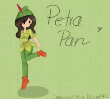 Petra Pan by Drawing-Heart