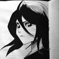 Rukia ~ Bleach ~ by DexadiDraw