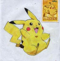 My Favorite Character_Pikachu by errisirre