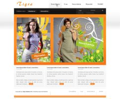 Tigra Fashon design by dolistudio