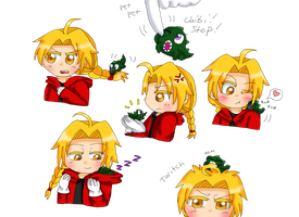 Ed and Lizard Envy by purplemagechan