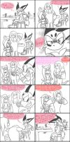 Knuckles and Fluttershy: You're not alone by HoshiNoUsagi