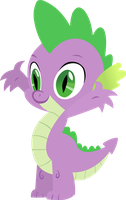 'My Little Pony: Friendship Is Magic' - Spike by KanesTheName