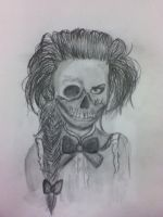 Little Miss Creepy by angelinaturner