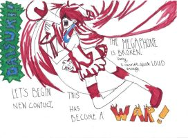 Love is War by grelltheripper