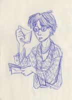 01_03 Harry's Letter by kuabci
