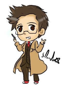 David tennant chibi by DandoArt