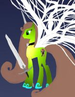 Make New Oc Ider new wings and new sword work 1 by daylover1313