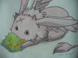 Mikage bunny,Dragon by Ayanami-The-Nuff