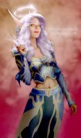 Blood Elf Priestess - Maharei by KrisCooper