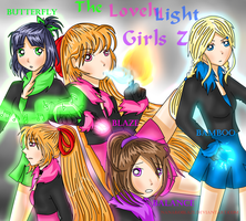 The Lovely light girls Z by NanakoBlaze