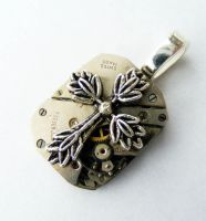 Steampunk CROSS OF CHRIST by Create-A-Pendant