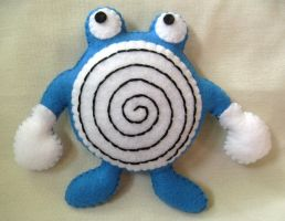 Poliwhirl Commission Plush by P-isfor-Plushes