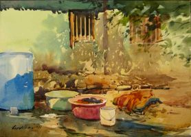 Washing place by kios18