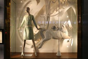 Mannequin and horse by joelshine-stock