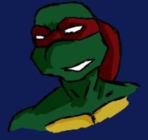 TMNT: Raph Smiling? by FireReign