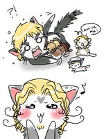 England's kittens by Marth-kun