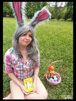 (Zootopia) Easter Bunny Judy Hopps! (Cosplay) #4 by KrazyKari