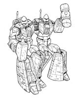 Rack N Ruin of the Wreckers by Charger426