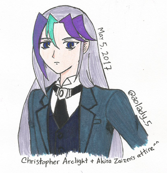 [Zexal x VRAINS] Chris with Akira's Attire by AoLady