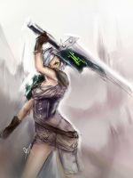 Riven scribble by azinqe